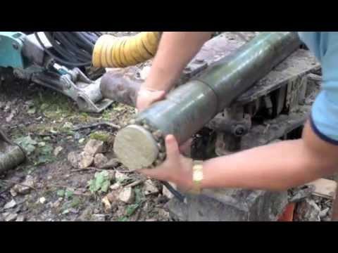 Carotaggio per indagine geologica a Bolca, Verona - Negropal srl