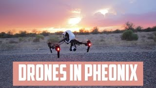 Flying drones in Phoenix
