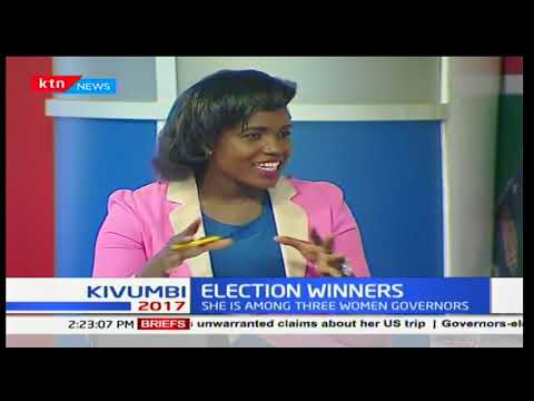 Election Winners : Joyce Laboso among three women governors