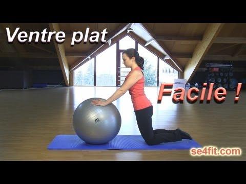 Ventre plat? Exercice facile et efficace!