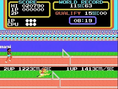 Konami's Track And Field 2 On The ColecoVision