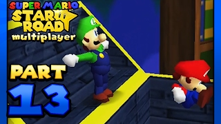 Super Mario Star Road: Multiplayer - Part 13: The Mario and Luigi Toy Box! (2 Player)
