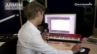 Virtual Friend - In the studio with Armin van Buuren