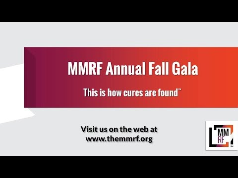 MMRF Annual Fall Gala Retrospective