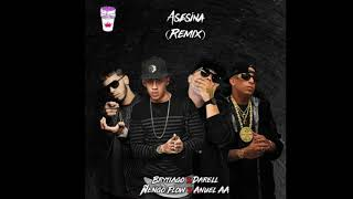 Brytiago, Anuel Aa, Darell Y Ñengo Flow   Asesina Remix (Prod. By : Christay Records)