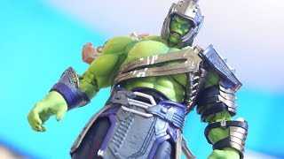 S.H. Figuarts Hulk with Marvel Legends Gladiator Hulk Armor Tutorial