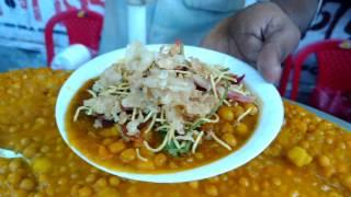 YELLOW PEAS MASALA CHAT/GHUGNI-MOST DELICIOUS,YUMMY TASTY DEMANDING AFFORDABLE STREET FOOD.