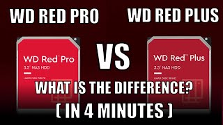 WD Red Plus vs WD Red Pro NAS Hard Drives - In 4 MINUTES!