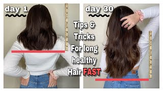 How To Grow Your Hair Long FAST!! *3 Inches In A Month* (Best Tips For Growth)