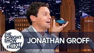 Jonathan Groff Sings a Voice Memoas Frozen's Kristofffor Jimmy's Kids (Full Version)