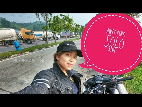 PENANG SOLO RIDE | Rider Helmet Pink | #OUTRIDE | 005