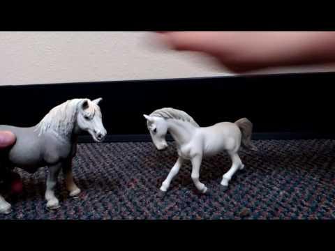 Funny schleich horse video ep.1 kristina kashytska sso family friendly animali toy игрушки