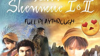 SHENMUE Lets play full gameplay w/ GamePad Viewer gameplay