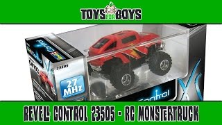 Revell Control 23505 - Mini RC Monstertruck CM192 REVIEW