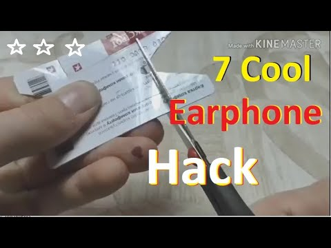 7 cool Earphone hack | Howto & Style