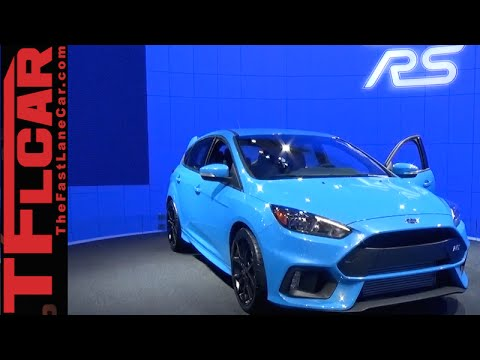 2016 Ford Focus RS: Everything You Ever Wanted to Know from NYC
