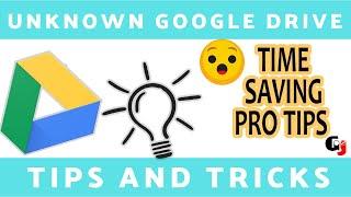 Google Drive  Tips And Tricks In Tamil  | இத்தன நாள் இது தெரியாம போச்சே! 2020 | Geek Vs Jerk