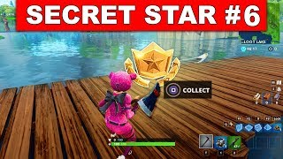 SECRET BATTLE STAR WEEK 6 SEASON 5 LOCATION! - Fortnite Battle Royale (Road Trip Challenges)