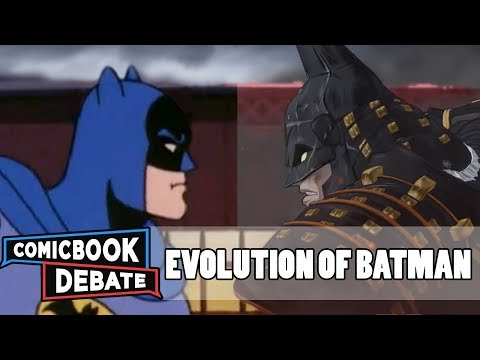 Evolution of Batman in Cartoons in 45 Minutes (2018)