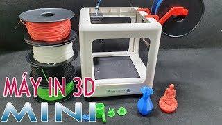 Trên Tay Máy IN 3D Siêu Nhỏ Gọn cho người mới Bắt Đầu