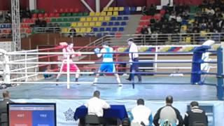 Чемпионат РК по боксу в Таразе 2014 г. Гани Жайлаов (Тараз)