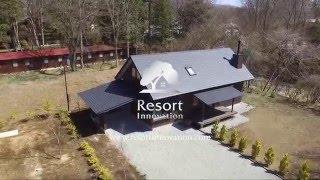 Resort Innovation - For Sale: House In Shiozawa, Karuizawa (軽井沢 塩沢売戸建/別荘)1 Bedroom+loft / 113 Sqm