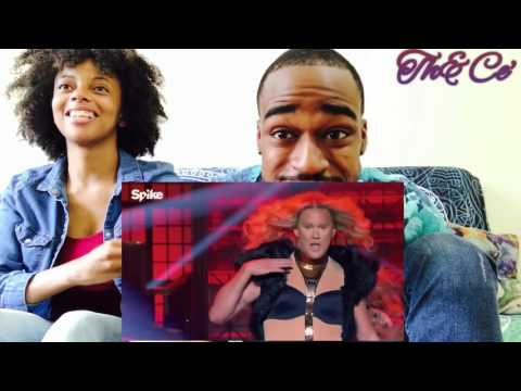 Lip Sync Battle ! Channing Tatum as Beyoncé ! Vs. Jenna Tatum as Ginuwine !! (Th&Ce' Reaction)