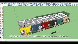 Minimalisfuzziblog Denah Rumah Kontrakan Minimalis Type 21