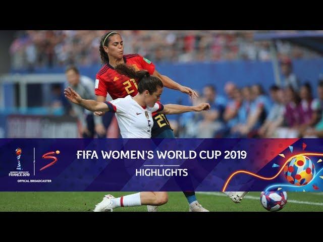 FIFA Women's World Cup | Spain vs USA | Highlights