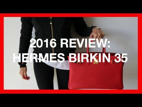 REVIEW: Hermes Birkin 35   2016
