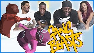 CRAZY EMOTIONS! ICE FIGHT FOR THE AGES!! - Gang Beasts Gameplay