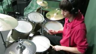 Deep Purple - Never Before drum cover