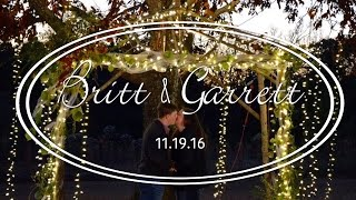Sweetest Fall Engagement || Britt & Garrett || 2016