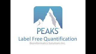 PEAKS Q Label Free Quantification