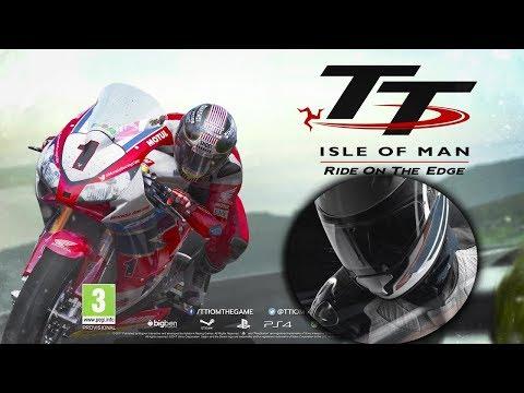 TT ISLE OF MAN - Ride On The Edge - КРАСИВО - Но что с физикой?