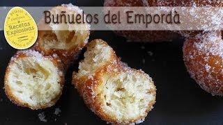 Buñuelos de Cuaresma. Bunyols de l'Empordà!