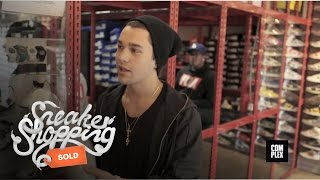 Austin Mahone Goes Sneaker Shopping with Complex