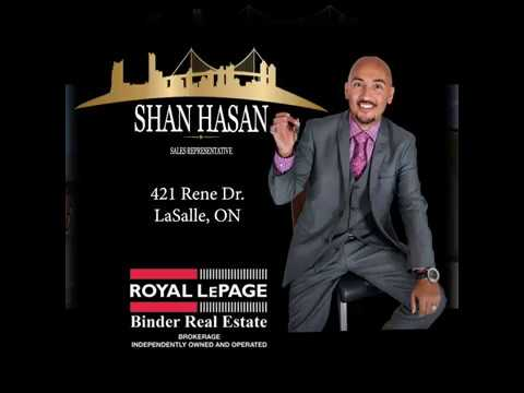 SOLD SOLD SOLD! 421 RENE DRIVE | LASALLE | SHAN HASAN