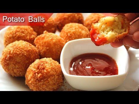 Crispy Potato Balls | Tasty and Easy Homemade | potato nuggets | breakfast recipes 2017  | snacks