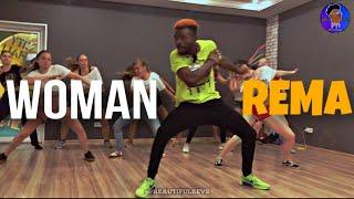 REMA - WOMAN Dance Class Russia 🇷🇺 2020 RÉvsVEVO