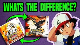 TOP 20 REASONS TO BUY POKEMON ULTRA SUN AND MOON   What's Different?