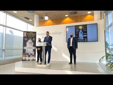 El XV Open Internacional de Ajedrez Málaga 2021 reúne a 140 ajedrecistas de 13 países diferentes
