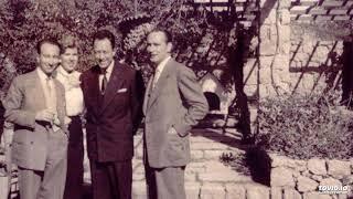 "Hηχητικό από μια βραδιά στο Γαλλικό Ινστιτούτο για το βιβλίο της Λητώς Κατακουζηνού: ""Συντροφιά με τον Albert Camus"", με χαιρετισμό του Δ/ντη του Γαλλικού Ινστιτούτου, με πρόλογο του Παπανούτσου και με την Αλέκα Κατσέλη να διαβάζει αποσπάσματα."