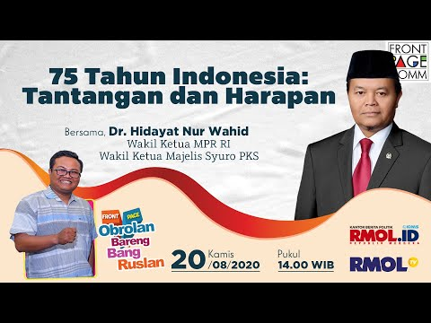 FRONT PAGE | 75 Tahun Indonesia: Tantangan Dan Harapan