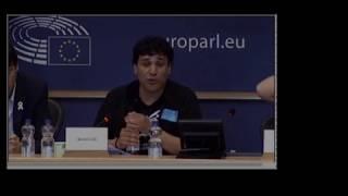 Intervención completa del periodista BoroLH en Bruselas por la libertad de expresión y prensa | Kholo.pk