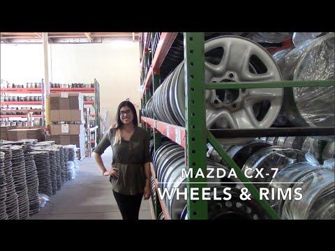 Factory Original Mazda CX-7 Wheels & Mazda CX-7 Rims – OriginalWheels.com
