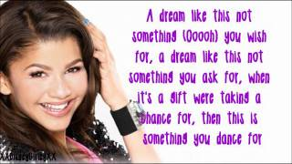 Танцевальная лихорадка, Something To Dance For - Zendaya - Lyrics *FULL SONG*