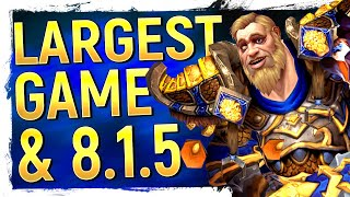 Blizz Reveals Their Largest Game! WoW's 8.1.5 Portal Drama, Allied Races & Release Dates | NEWS