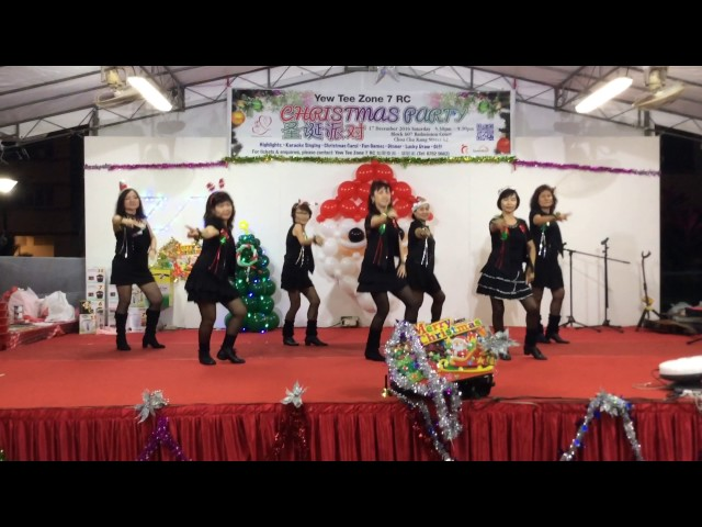 Line-dance-performance-little-apple-小苹果排舞表演