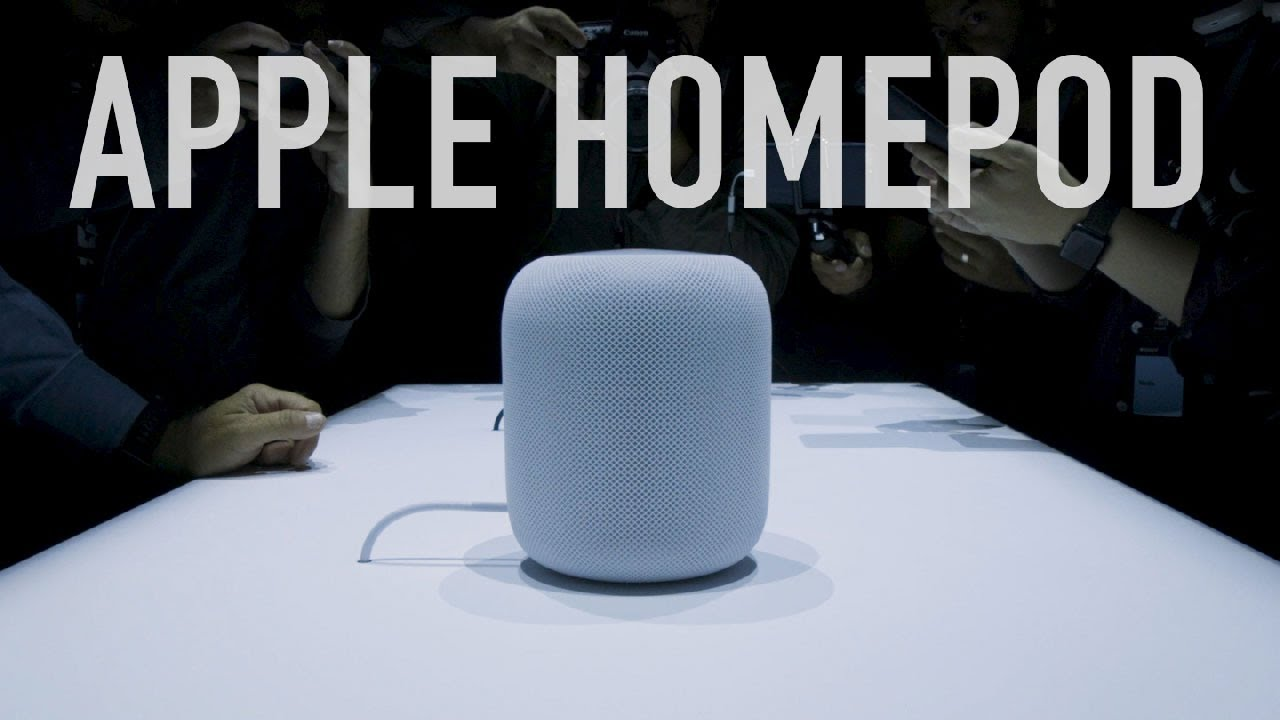 Apple HomePod first look thumbnail